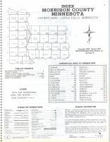 Index Map, Morrison County 1978